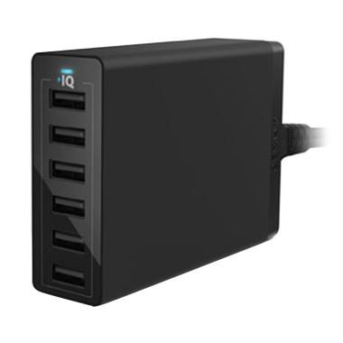 Anker PowerPort 6 USB Charger - Black [6 Port]