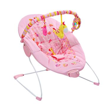 Mastela 6787 Soothing Vibration Baby Bouncer - Pink