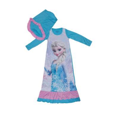 disney_disney-original---baju-muslim-frozen--blue-_full02 10 List Harga Jual Baju Muslim Anak Terbaru Murah Paling Baru tahun ini