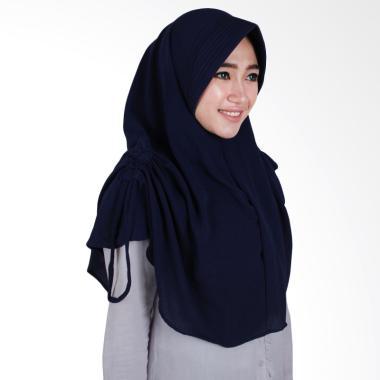 Hijab Bandung Lidya Kerudung Instant - Navy