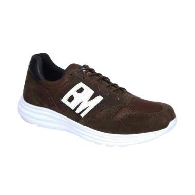 Frandeli BM Trainer Running Shoes Sepatu Olahraga Pria - Brown