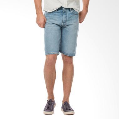 Levi's Original Fit Shorts Celana P ... ue Jeans [36512-0050 501]