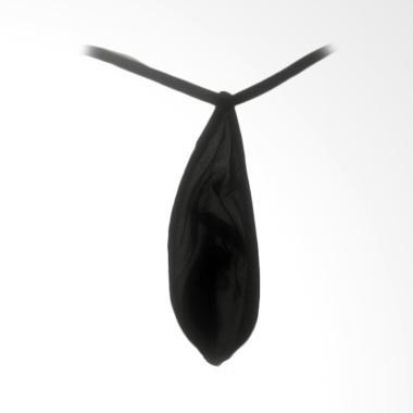 Jakarta Lingerie Sexy G-string Pria - Black [JLG050B]