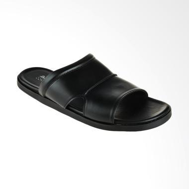Bata Rob C Men Sandal Pria - Black [8716446]