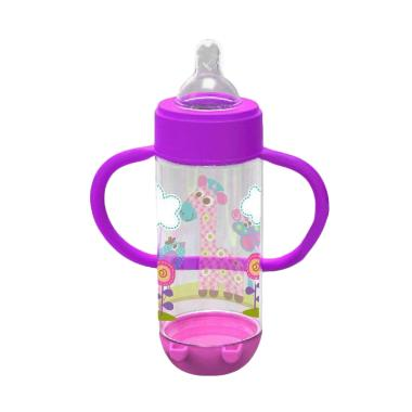 Baby Safe AP004 Wide Neck Feeding Bottle with Handle - Purple [250 mL]