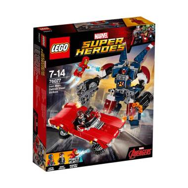 LEGO 76077 Marvel Super Heroes Iron ... es Blocks & Stacking Toys