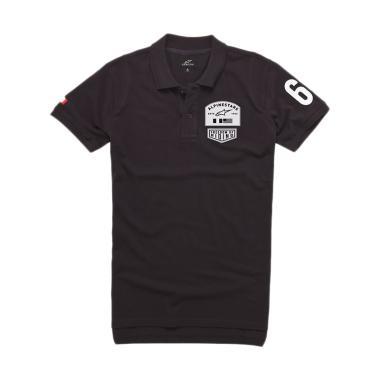 Alpinestars Pivot Polo Shirt Pria - Black