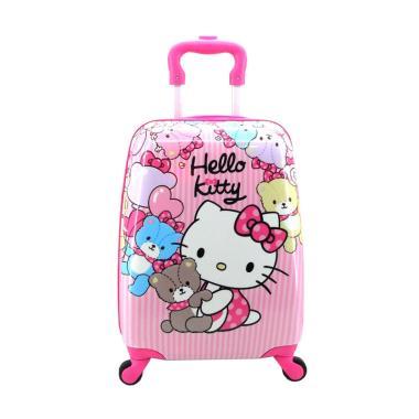 DJ Fashion Hello Kitty 0507 Trolley Bag Tas Sekolah Anak
