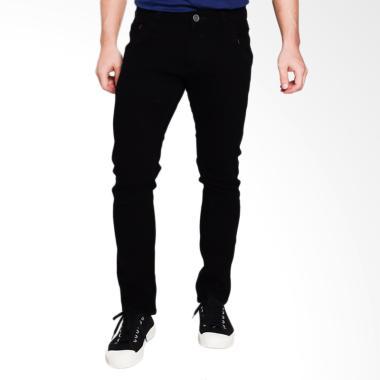 Cardinal Jeans Skinny CBCX008 01A Celana Panjang Pria - Black Stretch