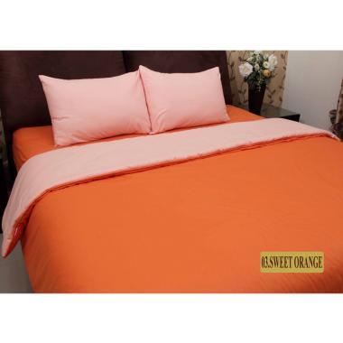 Chelsea Gold Polos Set Sprei - Sweet Orange