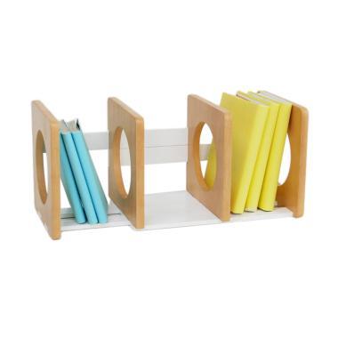Nori Dori NaKids Rak Buku Meja - Wooden