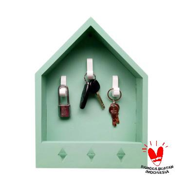 Stiletto In Style Key Holder Rumah Kunci Rak Dinding - Tosca