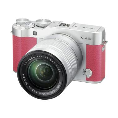 Fujifilm XA3 Kit 16-50mm Kamera Mirrorless - Pink