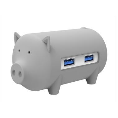 harga ORICO H4018-U3 Litte Pig Hub with Card Reader - Grey Blibli.com