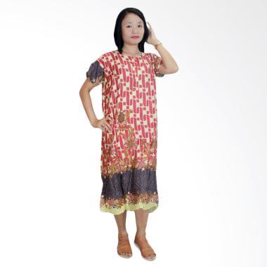 Batik Alhadi DPT001-53C Daster Kancing Baju Tidur Lengan Pendek