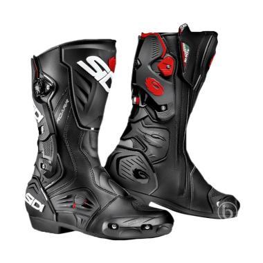Sidi ROARR Touring Riding Boots Sepatu Boots - Black Black