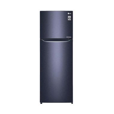 LG 2D REF GN-C372SQCN Kulkas - Black Purple [333 L/2 Pintu]