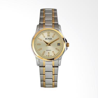 Bonia Rosso B10098-2122 Jam Tangan Wanita - Silver Gold