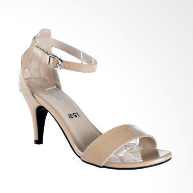 Lakeisha H_12_17 Laurel Sepatu Heels Wanita - Beige