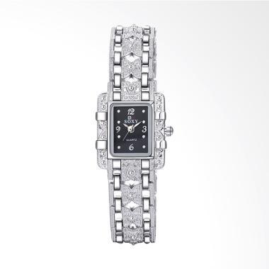 SOXY 0022A Top Luxury Fashion Brace ... Jam Tangan Wanita - Black