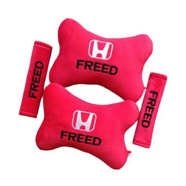 harga Indonesia Motor Motif Honda Freed Set Aksesoris Interior Mobil - Red Blibli.com