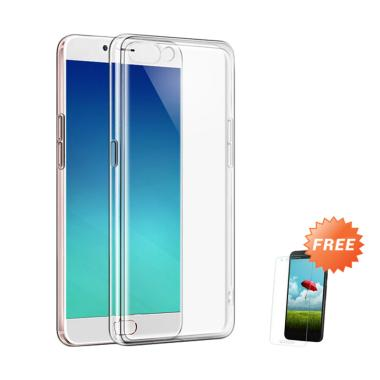 OEM Ultra Thin Softcase Casing for  ... ear + Free Tempered Glass