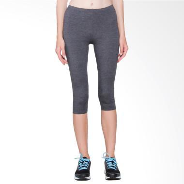 OPELON Legging 3/4 Celana Olahraga  ...  Grey [13.0509.000.15.DG]