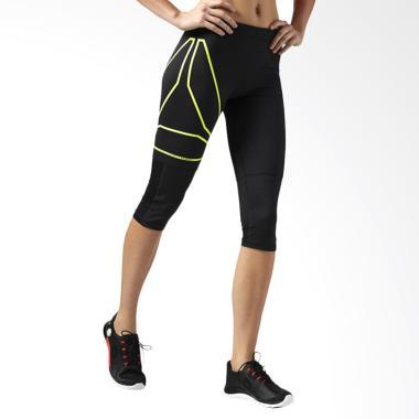 Reebok One Series Big Logo Capri Celana Olahraga Wanita [AJ0387]