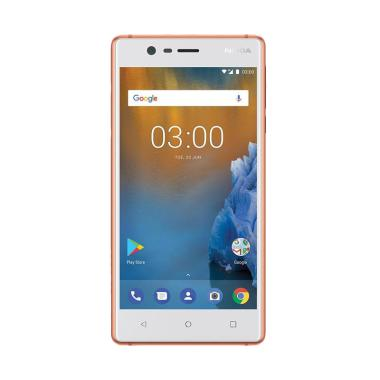 Nokia 3 Smartphone - White [16GB/2GB/4G LTE]