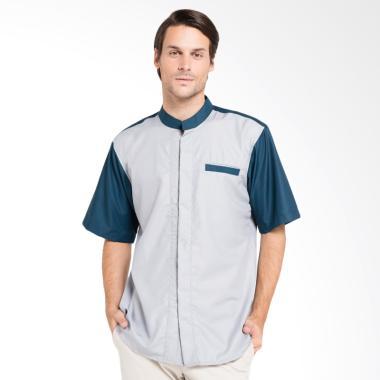 Allev Dawwas Shirt Baju Muslim Pria - Silver Britos