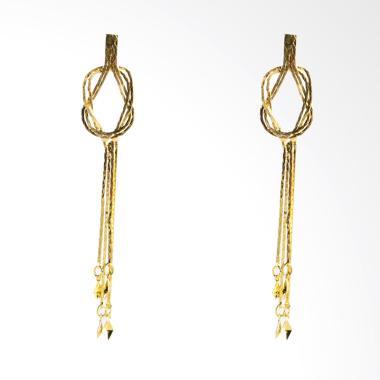 1901 Jewelry Afweda 6663 GW.6663.HR57 Giwang Women Earrings - Gold