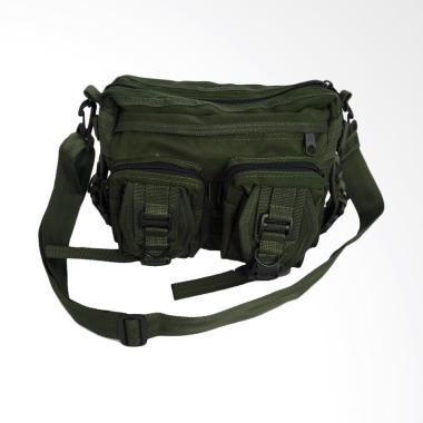UYE Kempol Tactical Army Z0170A Tas Selempang Pria - Hijau Lumut