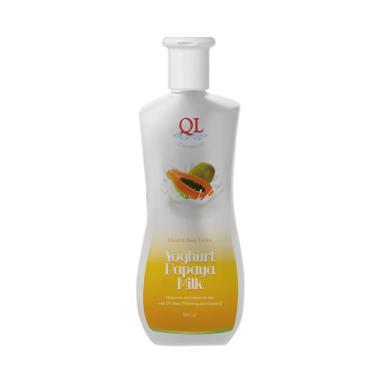 Ql Cosmetic Yogurt Papaya Milk Hand Body Lotion [500 mL]