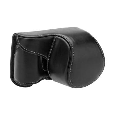 SONY Leather Tas Kamera for Alpha A6000 or A6300 - Hitam