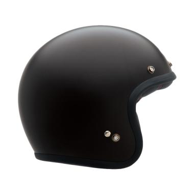 Bell Custom 500 Matt Helm Half Face - Black
