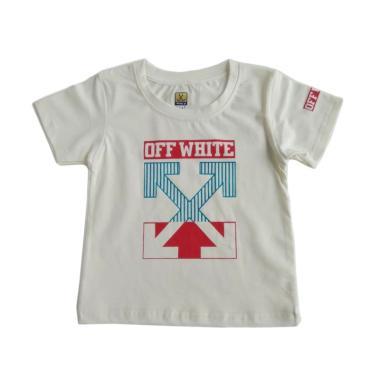GLOWFish OB1037 Kaos Anak Laki Laki - Putih [Usia 0-3 Tahun]