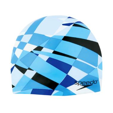 Speedo Optimism Cap Topi Renang - Blue