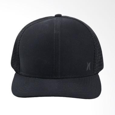 Hurley Milner Trucker Hat Topi Pria - Black [892020 010]