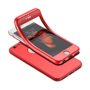 VR Softcase iPhone 7 360 2in1 Full  ...  7G Ukuran 4.7 Inch - Red