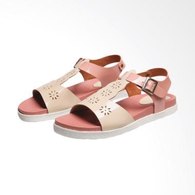 Syaqinah 144 Sandal  Wanita - Cream Pink