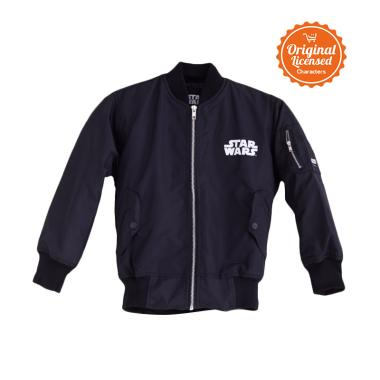 Star Wars Bomber Jacket Anak Laki - Black