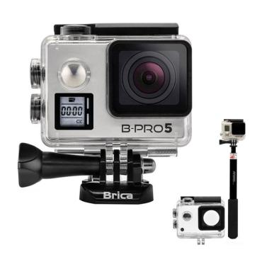 BRICA B-PRO 5 Alpha Edition Mark II ... Cam with Monopod - Silver
