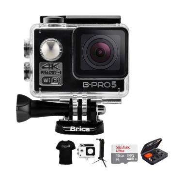 Brica B-PRO 5 Alpha Edition 1 4K AE ... uxe Action Camera - Hitam