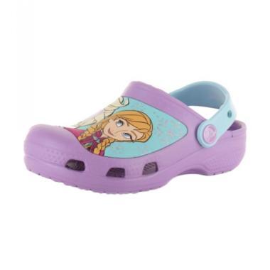 Crocs 16358 532 Creative Clog Frozen Sandal Anak Cewek