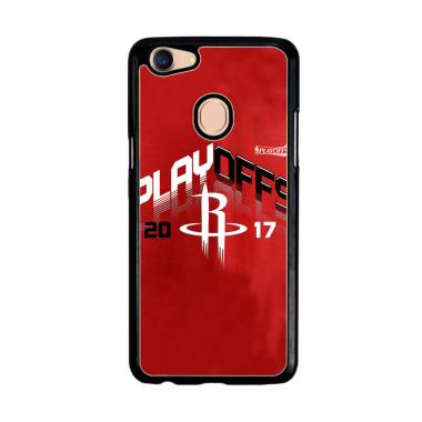 Acc Hp Houston Rockets Playoff 2017 Z4816 Custom Casing for Oppo F5