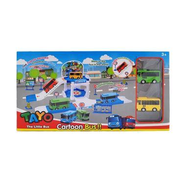 MOMO ZY-002 The Little Bus Tayo Cartoon Bus Mainan Anak