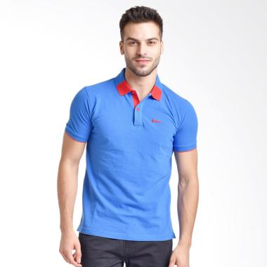 Hammer Polo Shirt Pria - Blue [G1PF400B1]