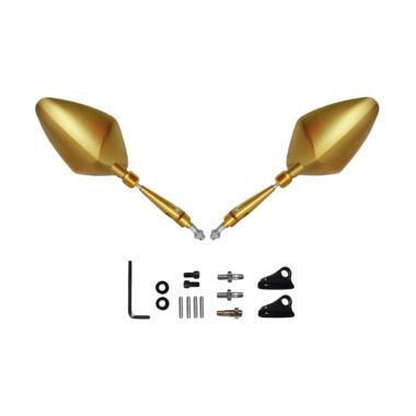 harga RajaMotor Spion Fairing/Non-Fairing Wajik ABS- Gold. - Aksesoris Motor - Variasi Motor - PROMO ONLINE Gold Blibli.com