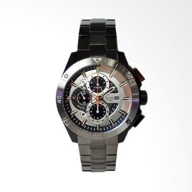 Alexandre Christie Chronograph Stai ... er Grey [AC6465MCBEPGROR]