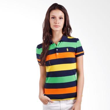 POLO RALPH LAUREN Stripe Slim Fit S ... ellow Green - YG786FEM7XM